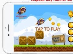 Jetpack Guy Runner GO 1.0 Screenshot