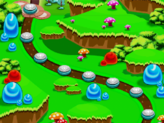 Jewel Crush Paradise 1.1 Screenshot