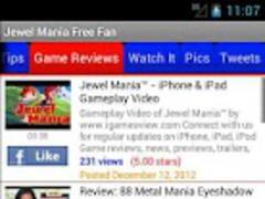 Jewel Mania Free Game 1.00 Screenshot