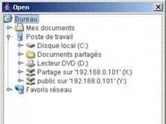 JFolderChooser 0.9 Screenshot