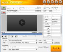 Jfuse Audio Converter 1.24 Screenshot