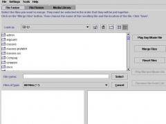 JFuse AVI, WMV, MPEG Joiner / Mpeg Splitter 4 Screenshot