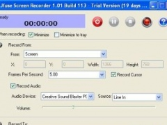 Jfuse Screen Recorder 1.01 Screenshot