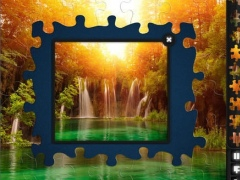 Jigsaw Puzzles: Waterfalls 2.1 Screenshot
