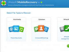 Jihosoft Android Data Recovery for Mac 6.1.4 Screenshot