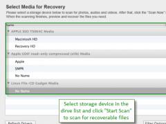 Jihosoft File Recovery for Mac 2.0 Screenshot