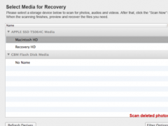 Jihosoft Photo Recovery for Mac 2.0 Screenshot