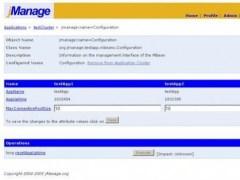 jManage 2.0 Screenshot