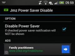 Jmz Power Saver Disable 2.0 Screenshot