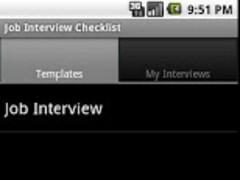 Job Interview Checklist 2.0 Screenshot