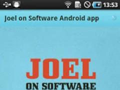 Joel on Software - Android App 1.1 Screenshot