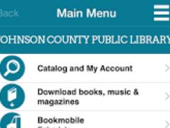 Johnson County Public Library 4.6.2 Screenshot