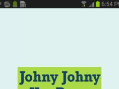 Johny Johny Yes Papa Rhymes 9 9 Free Download