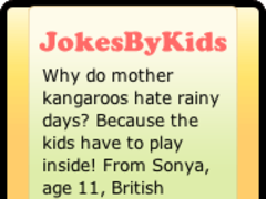 Jokes By Kids Daily Chuckle 1.0.1 Screenshot