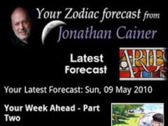 Jonathan Cainer Horoscopes 2.09 Screenshot