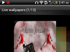 Jordan Retro 12 Live Wallpaper 1.0 Screenshot