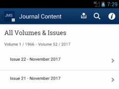 Journal of Material Science 2.1 Screenshot