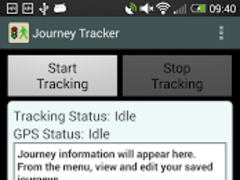Journey Tracker 1.15 Screenshot