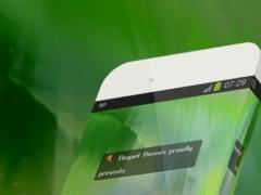 Joyful green Keypad Theme 1.4 Screenshot