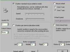 JoystickMouse Control Tool 1.8 Screenshot