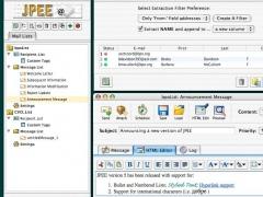 JPEE Email Utility (Mac OS X) 5.4.7 Screenshot