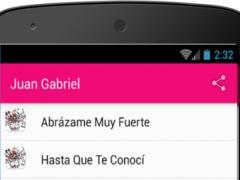 Juan Gabriel Amor Eterno 1.0 Screenshot
