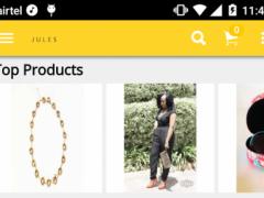 jules fashion boutique 1.0 Screenshot