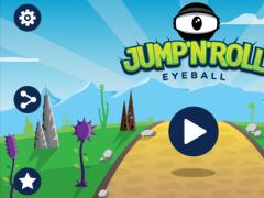 Jump'n'Roll Eyeball 1.1.1 Screenshot