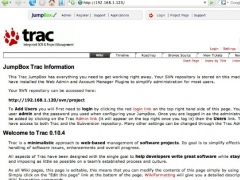 JumpBox for Trac/Subversion Software Project Management 1.0.2 Screenshot