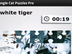 Jungle Cat Free Puzzles  Screenshot