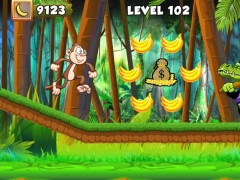 Jungle Monkey Banana King 3.0 Screenshot