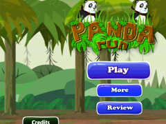 Jungle Panda Running 1.1 Screenshot