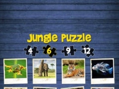 Jungle puzzle - jigsaw puzzle for kids 1 Screenshot