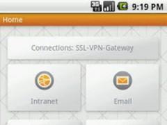 Junos Pulse for Galaxy Tab 7.0 4.1.0.28377 Screenshot