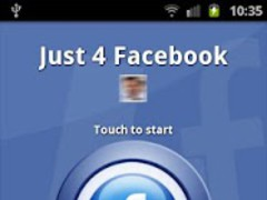 Just 4 Facebook 1.9 Screenshot