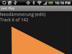 Just Play Music Player FREE 2.0 Screenshot