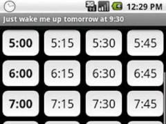 Just wake me up (alarm clock) 1.4 Screenshot