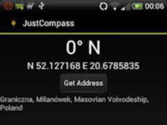 JustCompass 0.3 Screenshot