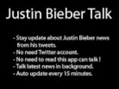 Justin Bieber Talk - Bronze 1.1 Screenshot