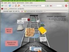 JVanish - an emerging AJAX 3D API 0.3.29 Screenshot