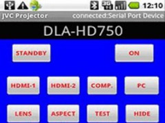 JVC Projector Remote Control 0.9.7 Screenshot