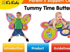 K's Kids Parents' Support Center : Tummy Time ButterFLY 1.3 Screenshot