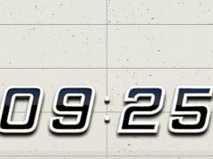 K1 Digital Clock Widget 2.51 Screenshot