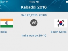 Kabaddi World Cup 2016 - Schedule 1.0 Screenshot