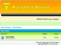 Kai Ultra Board  Screenshot