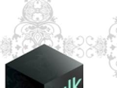 Kakao Talk Theme Black Baroque 1.1 Screenshot