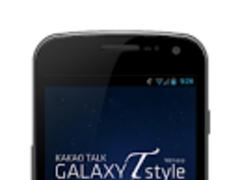 [Kakao Theme] Galaxy T style 1.0.0 Screenshot