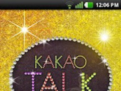 KakaoTalk BlingBlingJewelTheme 1.1 Screenshot