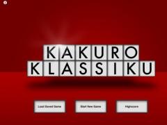 Kakuro Klassiku 1 Screenshot