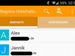 Kandru Messenger (XMPP/Jabber) 1.15.0 Screenshot